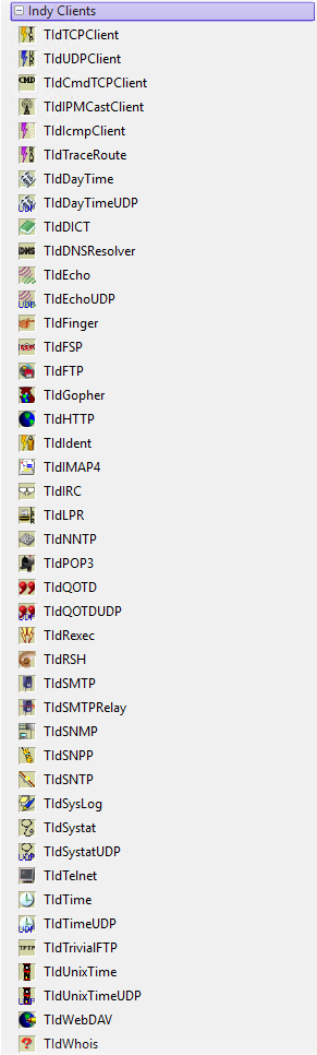 Delphi 10 2 Community Edition のコンポーネント (Delphi