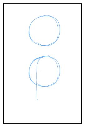 斜めからの顔の書き方斜め向きの頭部の書き方 漫画イラストの人物