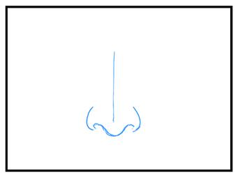 鼻の描き方 漫画イラストの人物キャラクター描画 Tips